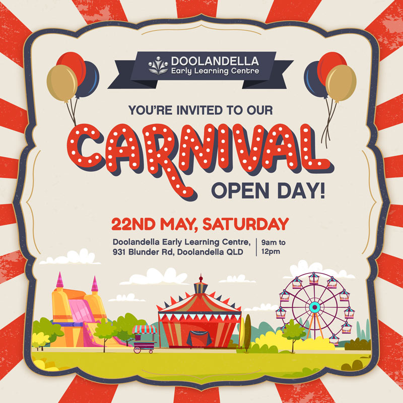 Carnival Open Community Day at Doolandella Early Learning Centre