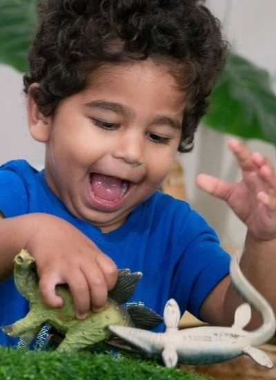 Toddler playing - Nursery Room - Your Early Learning Centre