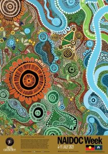 NAIDOC Week 2021 poster - Cleveland Early Learning Centre