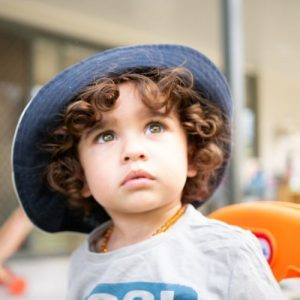 Kid Looking Afar - Cleveland Early Learning Centre