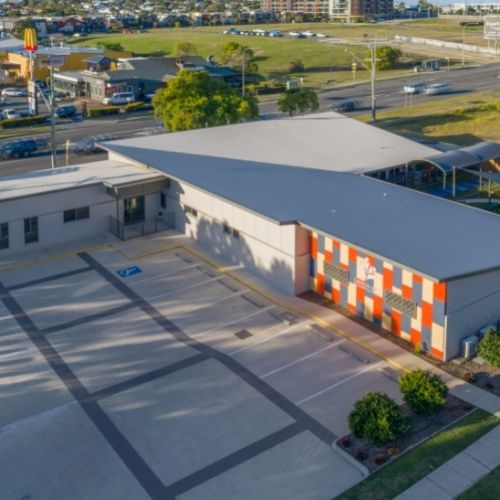 Cannon Hill Early Learning Centre - aerial view