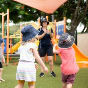 Kids Playing Outdoors - Cleveland Early Learning Centre