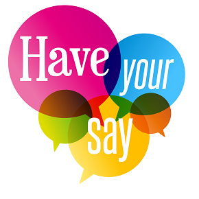 Have Your Say Chat Bubble - Daisy Hill Early Learning Centre