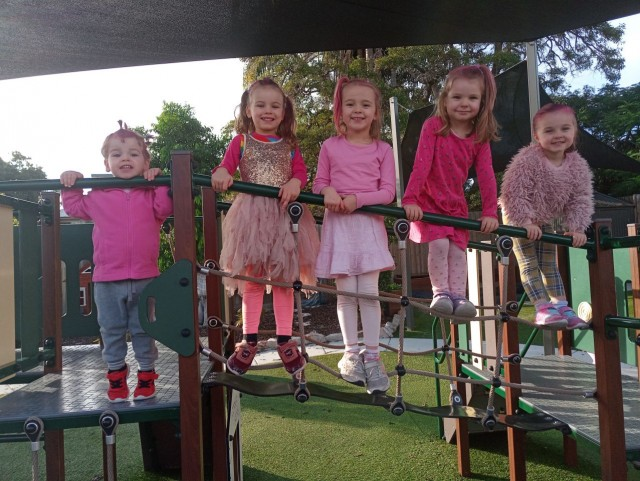 Kids in pink - Cannon Hill Early Learning Centre