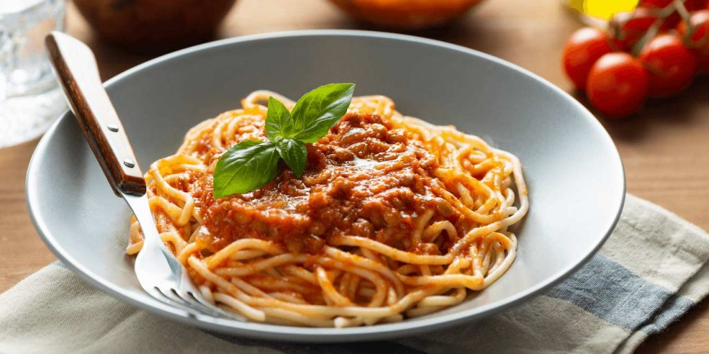 Lentil Bolognese - Recipe of the Month - Early Learning Centre